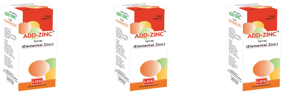 Elemental Zinc Syrup