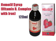 Hemolif Syrup (Vitamin B. Complex with Iron)