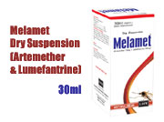 Melamet Dry Suspension (Artemether & Lumefantrine)