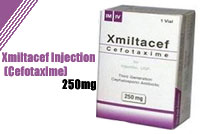 Xmiltacef Injections 250mg (Cefotaxime)