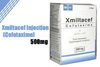 Xmiltacef Injections 500mg (Cefotaxime)