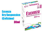 Excenza Dry Suspension 30ml (Cefixime)