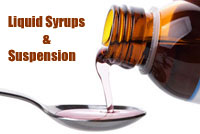 Syrups & Suspension